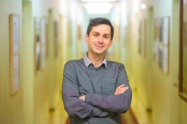 Dr Maciej Białous, socjolog z Uniwersytetu w Białymstoku