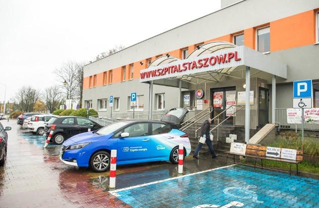 Środki ochrony zostały przekazane do szpitala w Staszowie