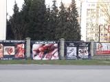 Zdjęcia zakrwawionych płodów na murze kościoła. Interweniowała policja
