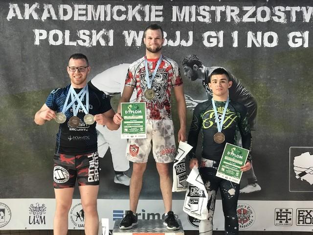 Artur Drążek zdobył dwa medale