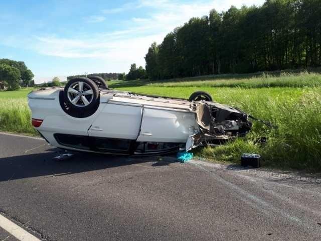 W wypadku koło Rypina zderzyły się cztery auta
