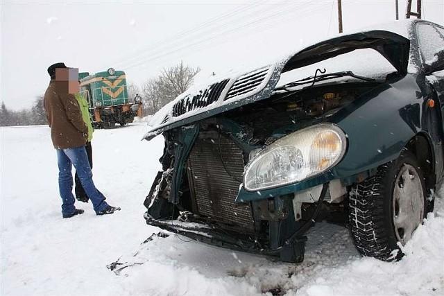 Kierowca lanosa został ukarany mandatem w wysokości 500 zł.