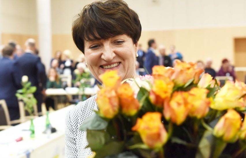Elżbieta Anna Polak, marszałek - 21.431 głosów, Zielona...