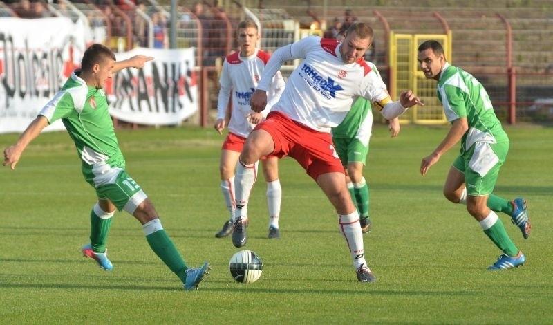 Marcin Zimoń jest podstawowym obrońcą ŁKS.