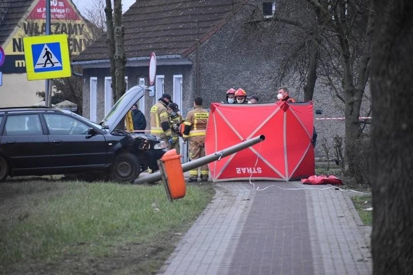 Potrącona 72-letnia kobieta była reanimowana na miejscu, ale...