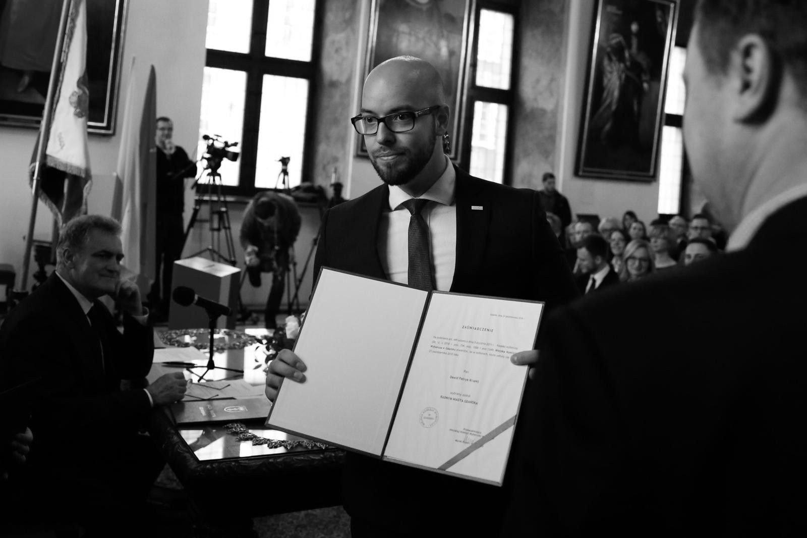Nie żyje Dawid Krupej. Gdański radny Prawa i Sprawiedliwości miał 29 lat. Zmarł 21.02.2020 r.   Dziennik Bałtycki
