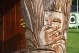 To cud? Rzeźba w sanktuarium w Leśniowie żyje i wypuściła gałązki. Przedstawia św. Pawła i bł. Euzebiusza