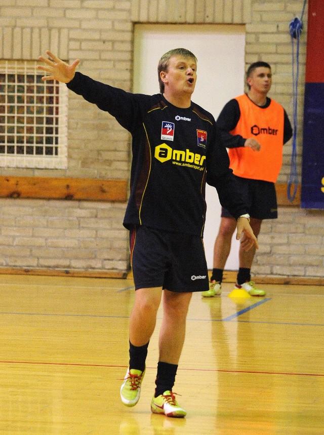 Trener Gerard Juszczak ma nowego zawodnika w składzie.