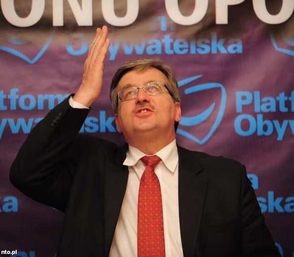 Bronisław Komorowski Wygrał Prawybory Prezydenckie W