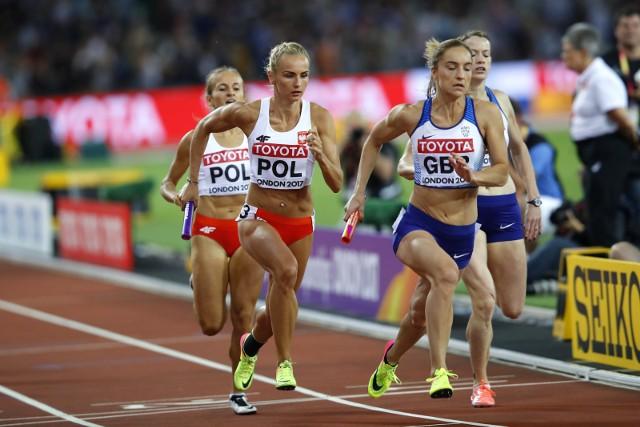 Justyna Święty w tym roku została mistrzynią Polski w biegu na 400 metrów. Rok temu podczas mistrzostw świata w Londynie z koleżankami zajęła trzecie miejsce w finale sztafety 4 x 400 m.