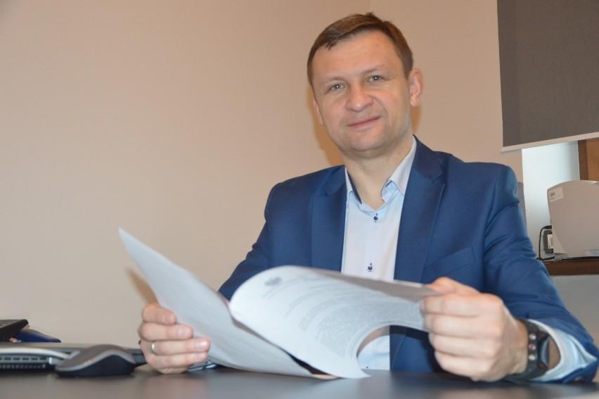 Marcin Pluta, p.o. dyrektora PCPR w Łowiczu