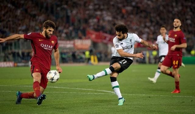 Mohamed Salah (w środku) i jego koledzy wygrają Ligę Mistrzów?