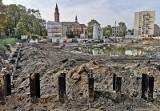 Kraków. Tak wygląda teren budowy po wyburzeniu szpitala kolejowego [ZDJĘCIA]