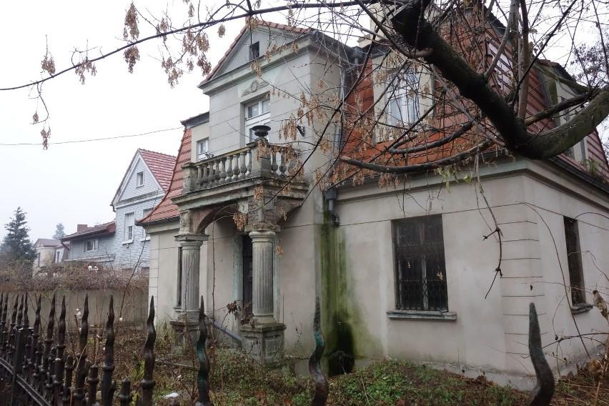 Jeden z domów osiedla przy ul. Skarbowej. Zaczęto je budować...