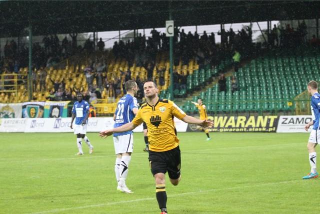 Grzegorz Goncerz strzelił 50. gola w barwach GKS-u Katowice