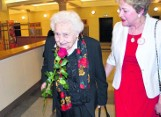 Nisko. Maria Mirecka-Loryś ukończyła 105 lat. To bohaterka podziemia niepodległościowego