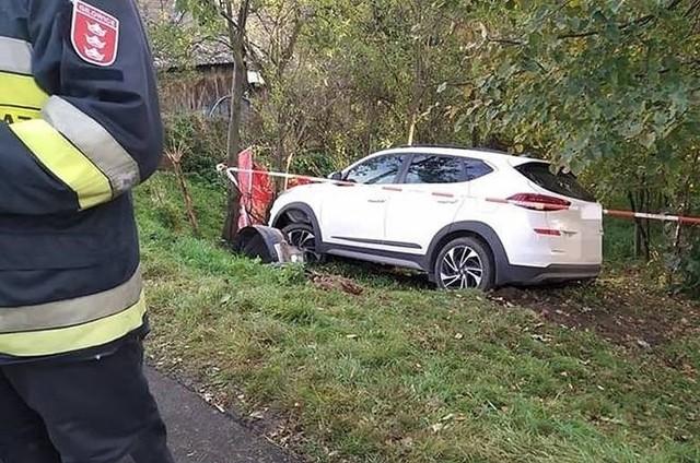Śmiertelny wypadek w Gilowicach. Do tragedii doszło w czwartkowe popołudnie 22 października 2020