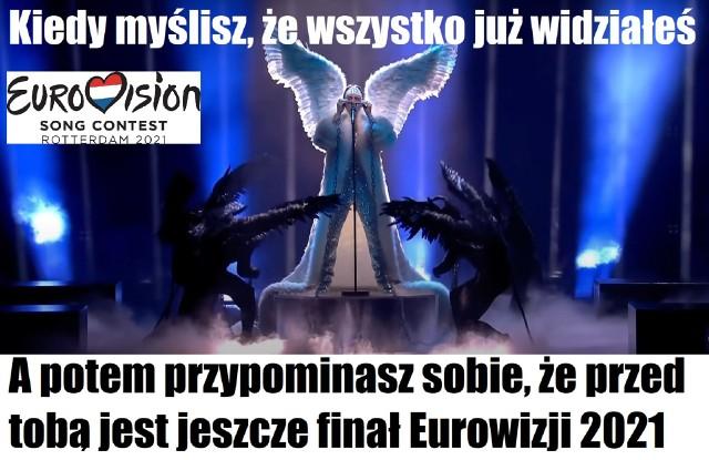 Memy po Eurowizji 2021. Zobacz na kolejnych slajdach, posługując się klawiszami strzałek, myszką lub gestami >>>