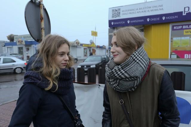 Do Londynu latamy dość często - mówią Anna Gryc i Klaudia Kowalik. - Gdyby do samolotu można było wsiąść już w Białymstoku, byłoby o wiele wygodniej - przyznają.
