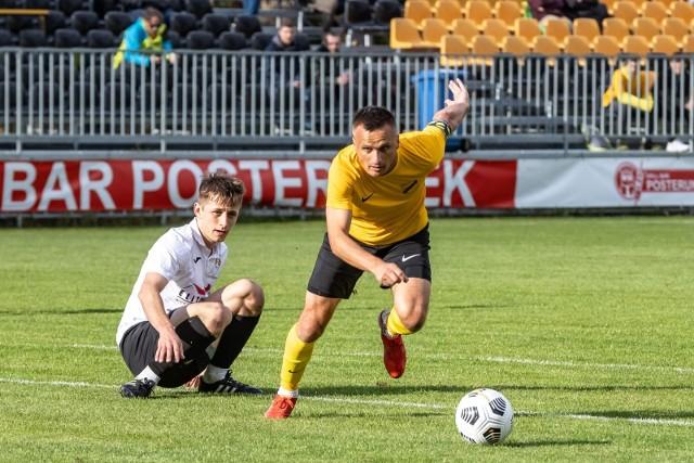 13.10.2021, Kraków: mecz IV ligi Wieczysta - TS Węgrzce
