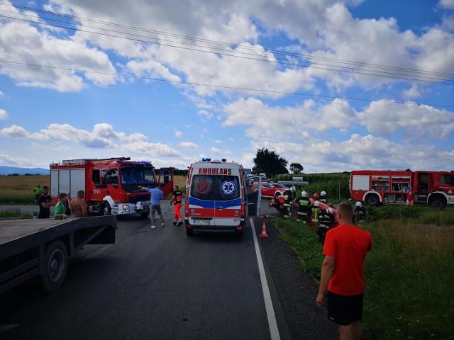 Wypadek w Gierałtowicach, 26 lipca 2021