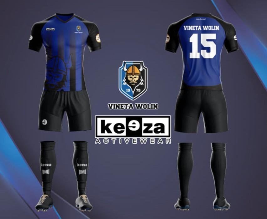 W takich strojach będą grać piłkarze Vinety w sezonie 2020/21.