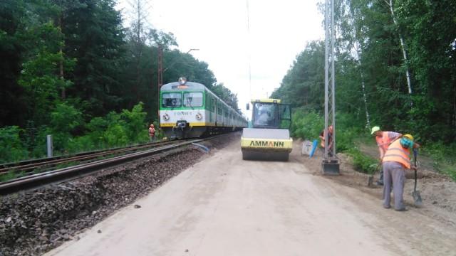 Firma specjalizuje się w robotach kolejowych.
