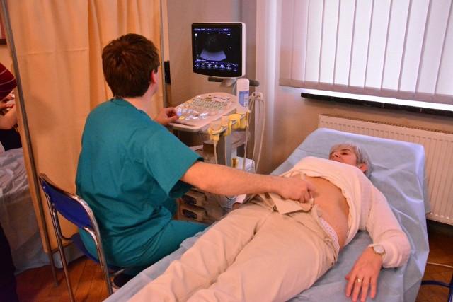 Osoby powyżej 50. roku życia mogły uczestniczyć w darmowych badaniach w kierunku wykrywania tętniaka aorty brzusznej i tętnic biodrowych