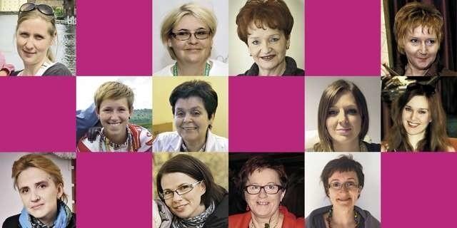Na zdjęciach (od lewej): Daria Wasąg, Krystyna Klaużyńska, Barbara Olszewska, Jolanta Baziak, Magda Poros, Małgorzata Świątkowska, Iza Kopczyńska, Lidia Sufisz, Joanna Scheuring-Wielgus, Lidia Jarosz, Anna Gużyńska, Ewa grobelska