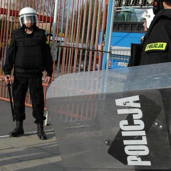 Policja zapowiada, że nie dopuści do awantury pseudokibiców.