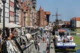 Statki Żeglugi Gdańskiej znikną z Motławy przy Zielonej Bramie. Powodem planowany remont