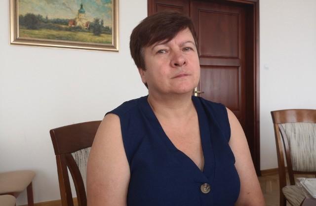 Wiesława Barzycka, dyrektor Szpitala Powiatowego w Nowej Dębie