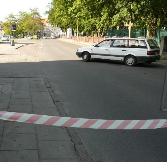 Auto zawracające na ślepej teraz ulicy Słonecznej to w tym tygodniu częsty widok. Nie wszyscy kierowcy zauważyli zmiany organizacji ruchu w tym rejonie miasta.