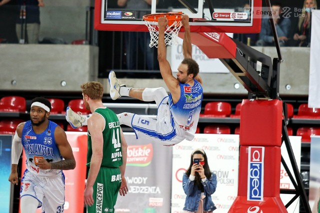Finał play off Energa Basket Ligi: Enea Zastal BC Zielona Góra - Arged BM Slam Stal Ostrów Wlkp. 1:1 (po dwóch meczach).