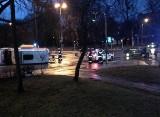 Zderzenie karetki i samochodu osobowego na Legionów w Gdyni 30.01.2018. Ranny pasażer ambulansu