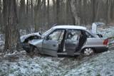 Wypadek w Chrząstowie. Cztery osoby trafiły do szpitala [ZDJĘCIA]