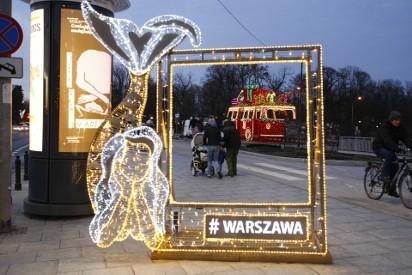 Iluminacja świąteczna 2018 Warszawa 3112 Zdjęcia Gdzie Choinka Na