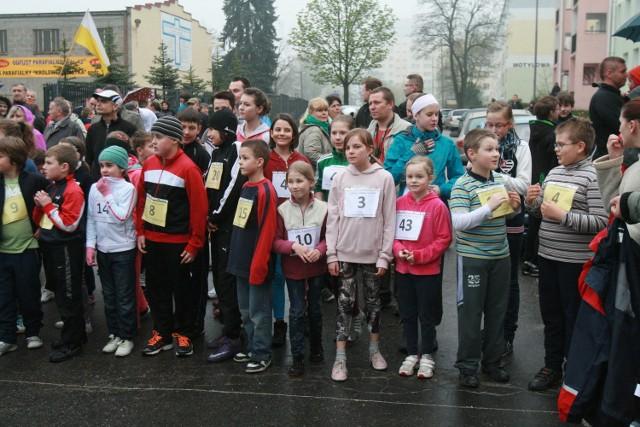 Bieg parafialny na Radogoszczu zorganizowała z okazji Święta 3 Maja parafia NMP Królowej Polski.