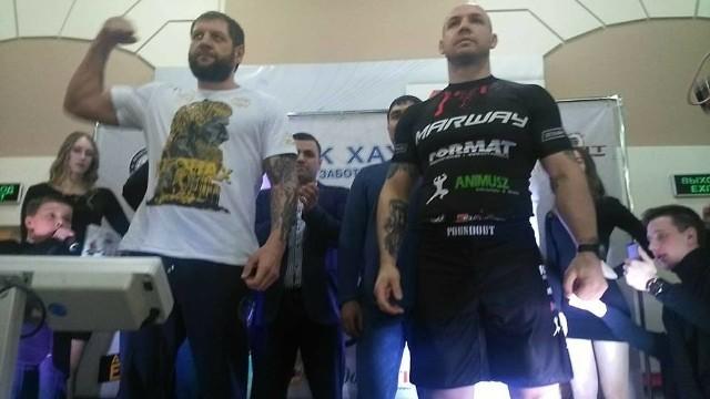 Aleksander Jemielianenko pokonał przez nokaut Szymona Bajora.