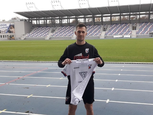 Krzysztof Kiercz zawodnikiem Broni Radom