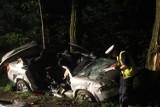 Śmiertelny wypadek w Lutomiersku. Nie żyje młody mężczyzna [ZDJĘCIA, FILM]