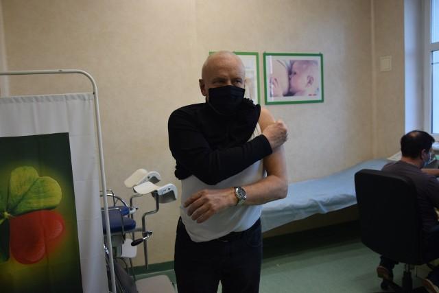 Pierwsze szczepienia w szpitalu w Międzyrzeczu.