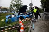 Kraków. Dramatyczny wypadek na Balickiej. BMW wjechało w grupę osób