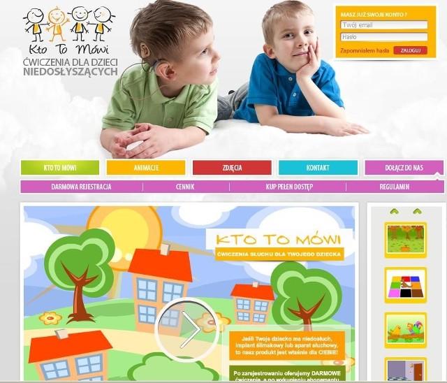 Ktotomowi.pl jest pierwszym na świecie serwisem z ćwiczeniami rehabilitacyjnymi przeznaczonymi specjalnie dla dzieci z niedosłuchem, w szczególności z tzw. implantem ślimakowym