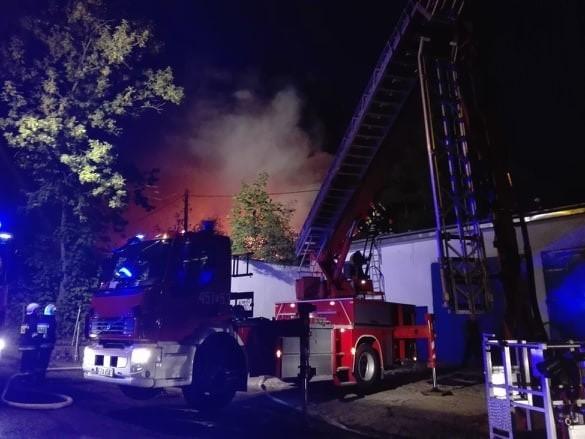 Do dużego pożaru w Żarach przy ul. Szpitalnej doszło we wtorek 13 sierpnia około godz. 21.00.Z ogniem walczy kilkanaście zastępów straży pożarnej. Z daleka widoczne są kłęby dymu. Pożar jest na tyle poważny, że trwa ewakuacja samochodów znajdujących się w pobliżu miejsca pożaru.Więcej informacji podamu niebawem.