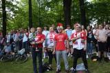 Euro 2020. Strefa kibica w Zawierciu. Mieszkańcy razem dopingują biało-czerwonych