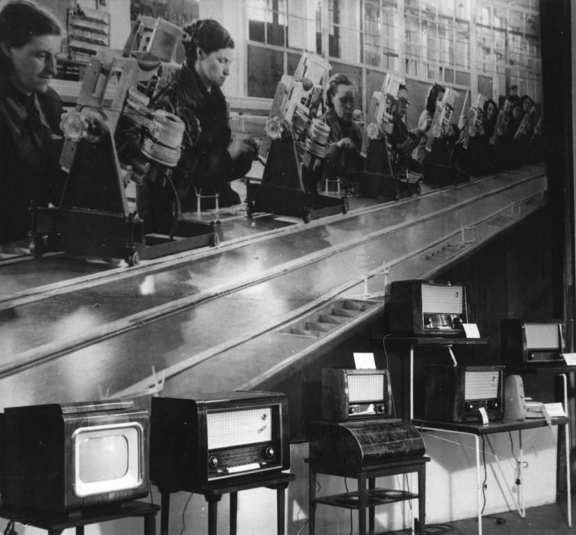 Targi na MTP podczas Czerwca '56
