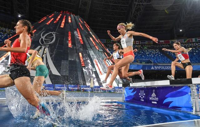 Alicja Konieczek w świetnym stylu wygrała bieg na 3000 metrów z przeszkodami podczas uniwersjady