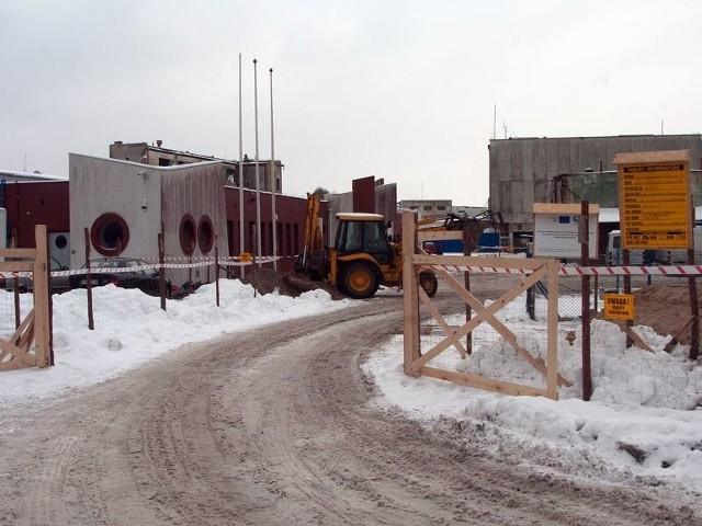 Budowa mroźni przy Aukcji Rybnej w Ustce ma się zakończyć w październiku 2013 roku.