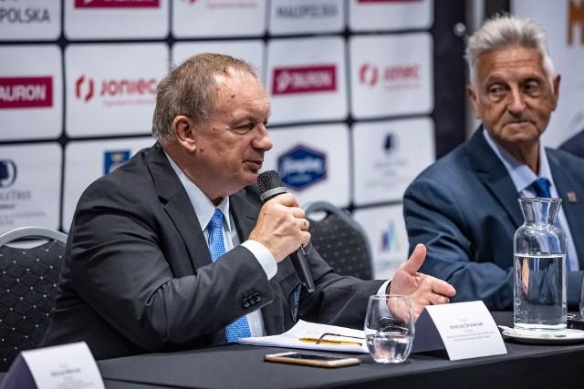 Andrzej Drewniak (z lewej) i Antonio Pinero